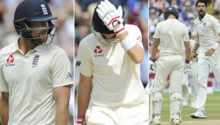 Ashwin, Ishant send shock waves across England - Sakshi