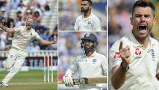 India vs England First Test Indian Loose - Sakshi