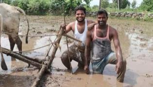 Telangana village's kiki challenge Video goes viral  - Sakshi