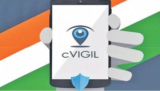 "A Mobile App To ""Check Poll Code Violations"" - Sakshi"
