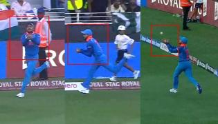 Asia Cup 2018- Manish Pandey Super Catch  - Sakshi