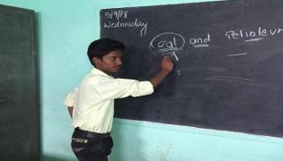 10th class student kidnap at shadnagar tagore school  - Sakshi