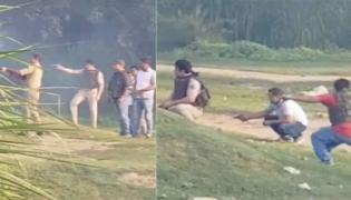 Live Encounter in UP,Cops invited journalists to watch - Sakshi