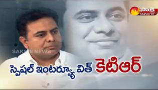 KTR Exclusive interview with Sakshi - Sakshi