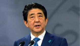 Shinzo Abe set to be Japans longest-serving PM after winning party vote - Sakshi
