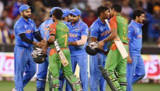 India beat Bangladesh by 7 wickets - Sakshi