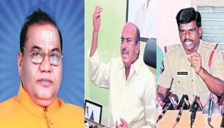 Prabodhananda Swami Release Video On Conflicts In Tadipatri - Sakshi