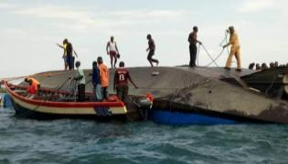 Tanzania ferry disaster,Death toll rises to 127 after a boat capsized on Lake Victoria - Sakshi