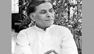 The Great Writer Raja Rao - Sakshi