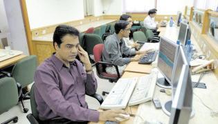 Sensex Tanks Over 550 Points, Nifty Below 11,000 - Sakshi