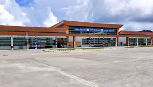 PM Narendra Modi  Inaugurates Sikkims First Airport - Sakshi