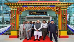 Sikkim- PM Modi inaugurates Pakyong Airport near Gangtok - Sakshi