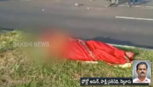 Nellore: Car Hits Divider; Three Died - Sakshi