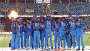 India beat Bangladesh by three wickets, win Asia Cup 2018 - Sakshi