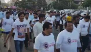 Bigg boss kaushal army 2k run in hyderabad - Sakshi