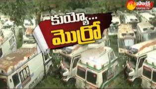 108 Ambulance Service Delayed In AP - Sakshi