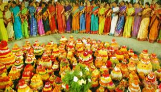 Bathukamma Festival Celebrations 2018 - Sakshi