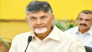 Chandrababu in teleconference with party leaders - Sakshi