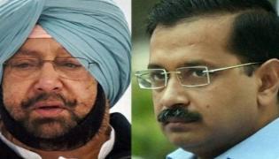 Arvind Kejriwal And Amarinder Singh Rank High For Next CM - Sakshi
