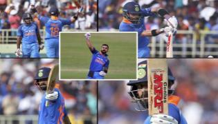 Virat Kohli fastest to reach 10000 ODI runs, breaks Sachin Tendulkar's record - Sakshi