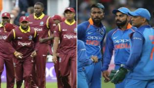 West Indies beat India by 43 runs to level series 1-1 - - Sakshi