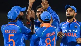 India Won Against West Indies In Mumbai ODI - Sakshi