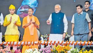 PM modi fires salvo at Rahul Gandhi - Sakshi