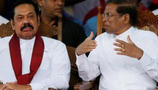 Political Fight In Sri Lanka - Sakshi