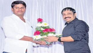 KCR Biopic Udyama Simham Movie First Look And Poster Launch - Sakshi