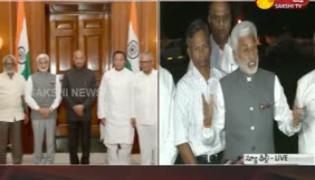YSRCP Leaders Meet President Ramnath Kovind In New Delhi - Sakshi
