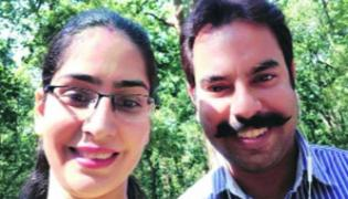 Husband Pushed Off His Wife From Eighth Floor In Gurugram - Sakshi