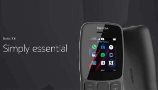 HMD Global launches Nokia 106(2018) feature phone  - Sakshi