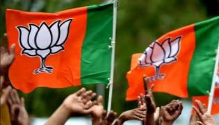 BJP Dausa MP Harish Chandra Meena joins Congress - Sakshi