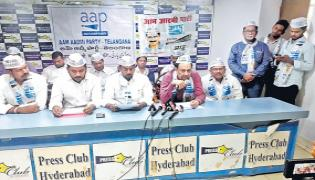AAP releases third list of 16 candidates for telangana polls - Sakshi