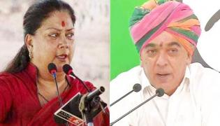 Manvendra Singh To Contest Against Vasundhara Raje - Sakshi