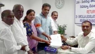 Filing Of Nominations End In Telangana - Sakshi