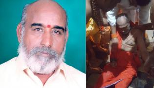Priest Dies Due To Heart Attack In Palakollu Ksheera Ramalingeswara Swamy Temple - Sakshi
