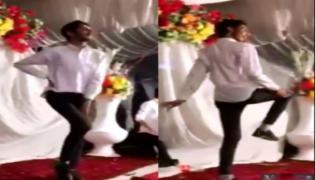 Boy dance like Girl-Video Viral - Sakshi