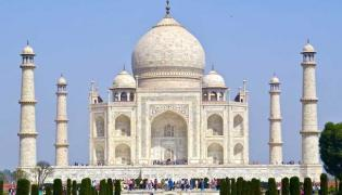 Taj Mahal ticket price hiked fivefold for visitors - Sakshi