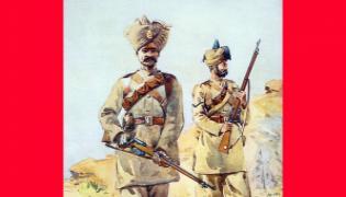 Special story on Former soldier - Sakshi