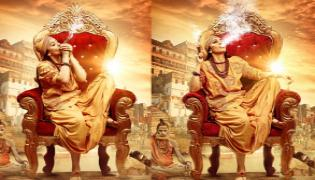 Controversy on Hansikas 50th Movie Maha First Look - Sakshi