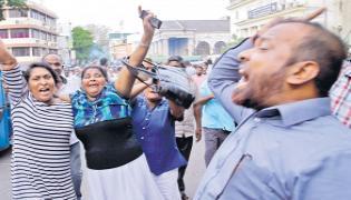 Sri Lankas President Mithripala Sirisena has suffered a stiff challenge - Sakshi
