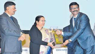 The CRI Pumps has recently received another award - Sakshi