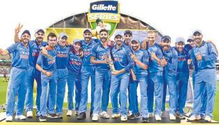 Kohli Team Created History - Sakshi