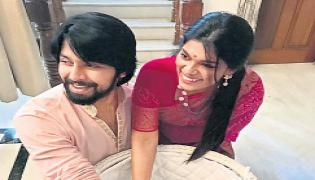 kalyan dev, sreeja is baby girl name ceromani - Sakshi