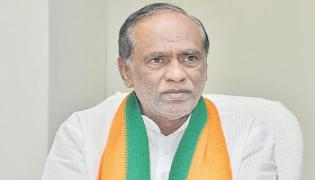 Laxman demands white paper on Central funds to TS - Sakshi