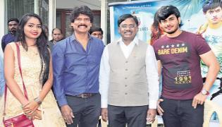 Vivek Venkataswamy Launches Gamer Telugu Movie Trailer - Sakshi