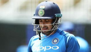Ambati Rayudu Suspended From Bowling in International Cricket - Sakshi