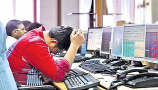 Sensex Closes Lower For Seventh Day - Sakshi