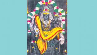 Amma is also seen next to Swami - Sakshi